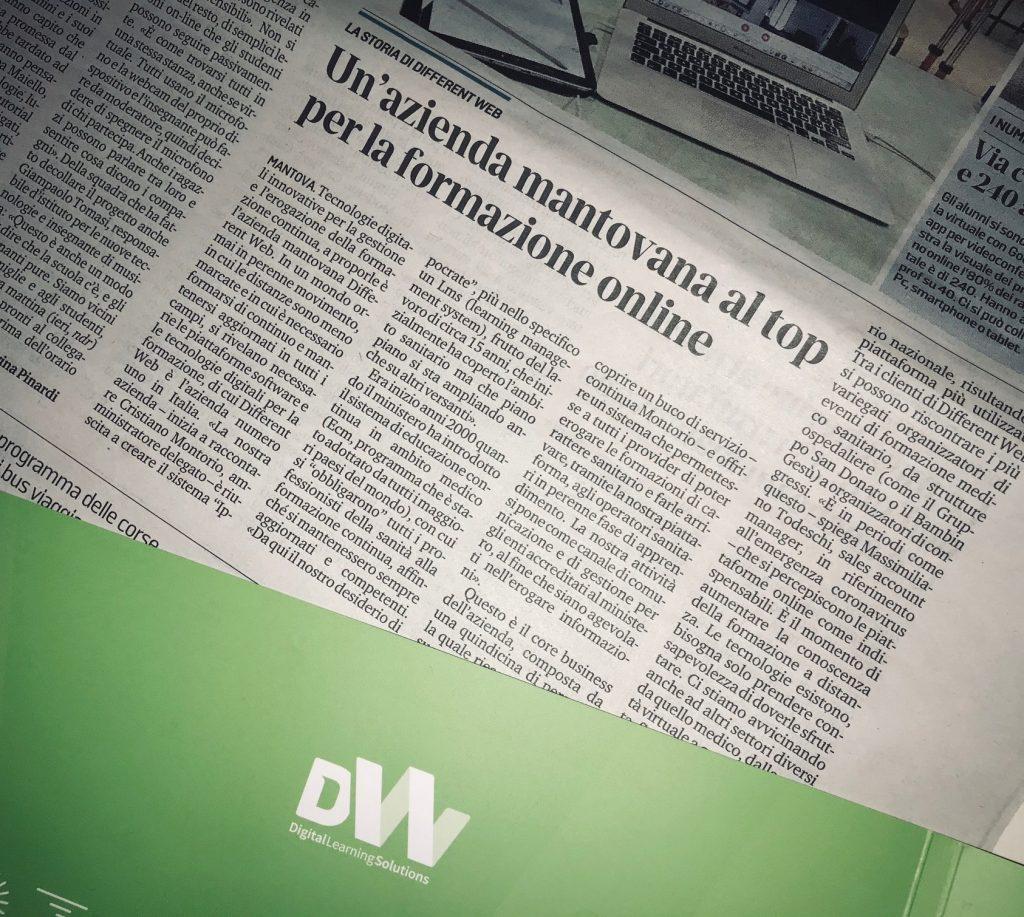 articolo gazzetta mantova corona virus